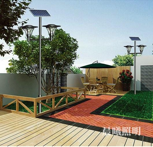 3米太阳能庭yuan灯