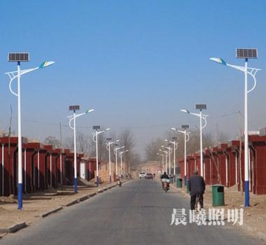 新nong村6米tai阳能lu灯