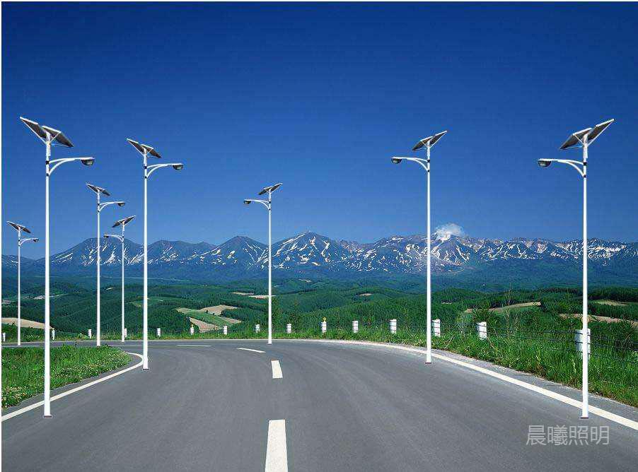 xin农村3.5米太阳能lu灯